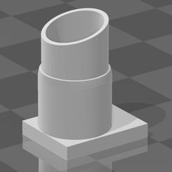 1salida.jpg Download STL file RC 1/10 single exhaust • 3D printable object, chkstyle