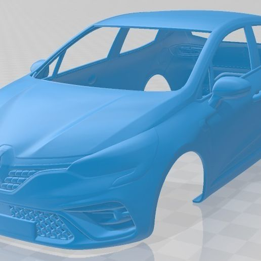 Renault-Clio-RS-Line-2019-1.jpg Download STL file Renault Clio RS Line 2019 Printable Body Car • Object to 3D print, hora80