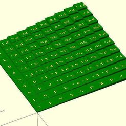 multiplication_tables_braille.jpg Download free SCAD file Braille optimized multiplication table • Template to 3D print, Numbmond