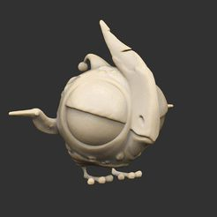 CreaturePufferCave.jpg Télécharger fichier STL gratuit Alien Creatures Part 1 x13 Savage Planet • Design imprimable en 3D, CharlieVet