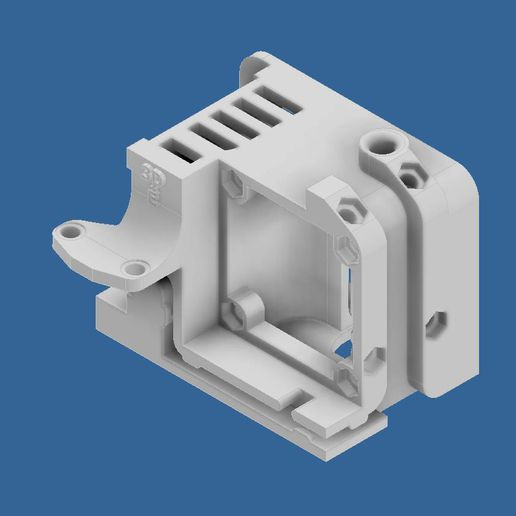 extruder-cover-ender-3-1.jpg Download STL file Compact Сreality Ender 3 extruder protection (cover) with provided standard cooling locations and mount for BL Touch (3D Touch) • 3D print object, CompadreVlad