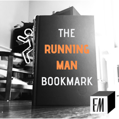 RUNNING_MAN.png Download free STL file Running Man Bookmark • 3D printing design, ElijahCole11