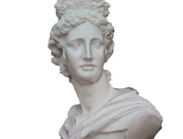 ApolloBust.JPG Download free STL file Apollo Bust 3D Scan • 3D printable template, 3DWP