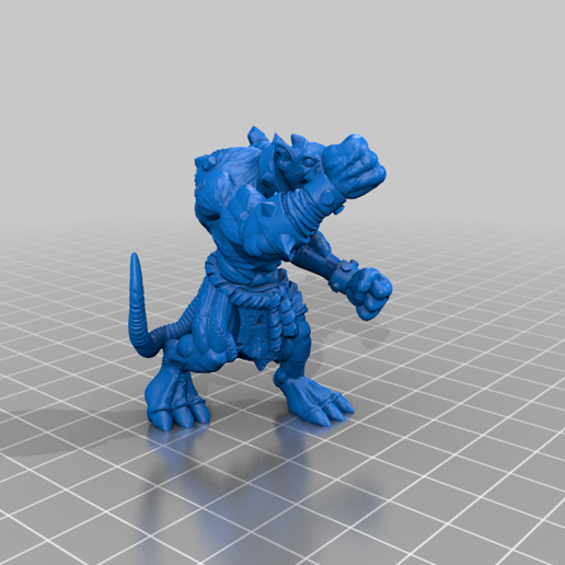 RatOgre_v2.1_a_Full.png Download free STL file Mutant Rat Monster (Remix) • 3D printer design, Erdrick