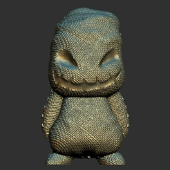 1.1.PNG Download free STL file Mini Oogie Boogie • 3D printing object, BODY3D
