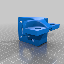 Direct_Drive_Support_for_Pancake_Nema__Dual_Gear_.STEP.png Download free STL file Direct Drive Support for E3PRO (Pancake Nema17 25mm and Creality Dual Gear Extruder • 3D print object, chillteen
