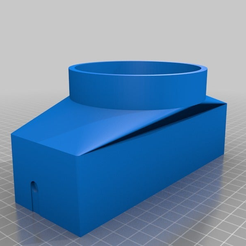 9094da6e1b987d0a75033ac0a210347a.png Download free STL file Hose Adapter for Home Protect Easy Home Dehumdifier • Template to 3D print, Steve_rLab