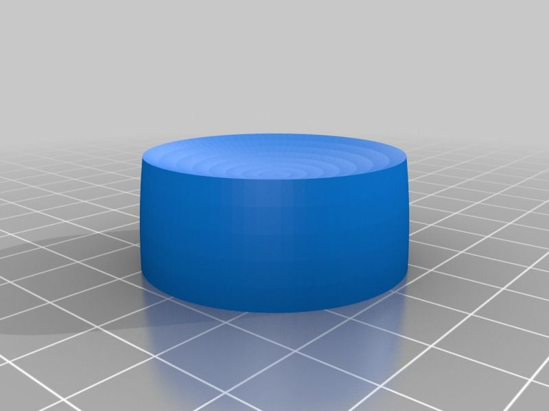 dimmer_button.jpg Download free STL file Dimmer control button • 3D print object, tombou