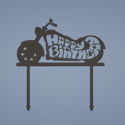 3c0235004a3ab26d4a070dc95898be35.png Download free STL file HAPPY BIRTHDAY MOTORBIKE TOPPER • 3D printable design, FARRUQUITO