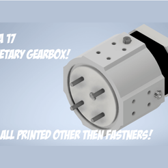Nema_17-min.png Download free STL file Nema 17 Planetary Gearbox! • 3D printable model, Supersystems