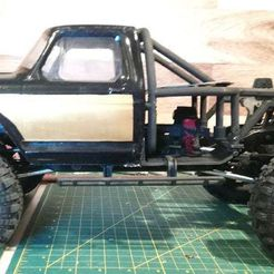 Thumb_Side_View.jpg Download free STL file RedCat Gen 8/Axial Clone Ford Honcho Back Half • 3D printable model, WrenchToDrive