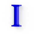 I3.png Download free STL file Letras / abecedario completo • Object to 3D print, Lubal