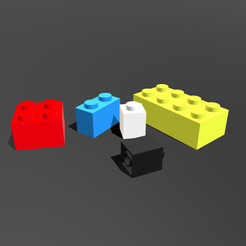 leg0.png Download 3DS file Lego Blocks • Design to 3D print, SimonTGriffiths