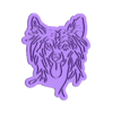 chinese dog.stl Download STL file Chinese dog cookie cutter • 3D print template, RxCookies