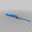 Sniper_csgo_awp_part_right.png Download free STL file CSGO Awp  CUTTED IN 2 PARTS • 3D print model, r083726