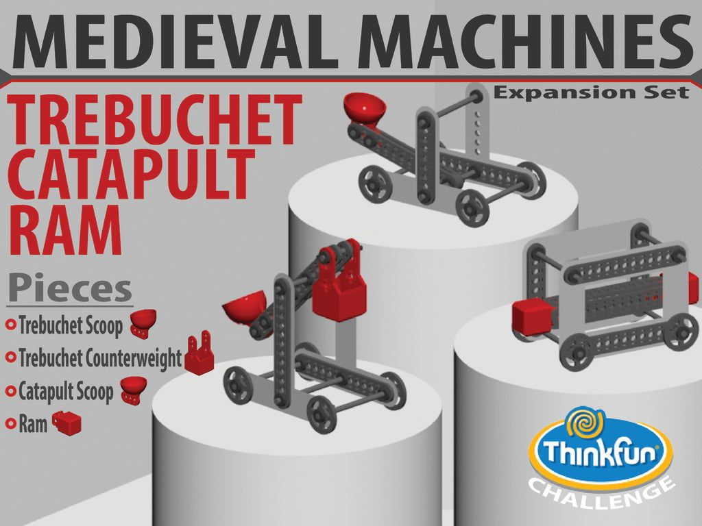 Cover-01_display_large.jpg Download free STL file MEDIEVAL MACHINES - Expansion Pack • Object to 3D print, Pwentey