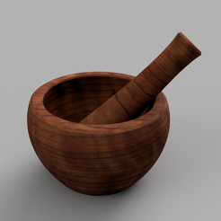 mortar_2018-Oct-25_09-41-55AM-000_CustomizedView37292554049.png Download free STL file Mortar & pestle • Model to 3D print, Odrivous