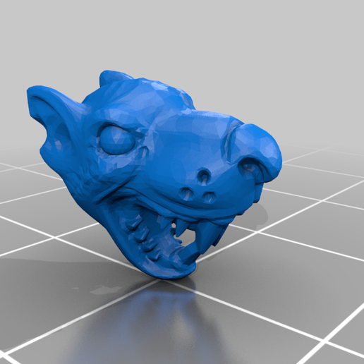 Head.png Download free STL file Mutant Rat Monster (Remix) • 3D printer design, Erdrick