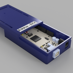 arduino mega 2560 slide box.png Download STL file Arduino mega 2560 slide box • 3D printable model, rikkieBKK