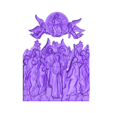 2.stl Download free STL file Jesus angels and saints • 3D printing object, 3DPrinterFiles
