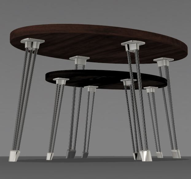 V2 Centre.JPG Download STL file PING & PONG tables • Object to 3D print, MyVx35