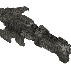 AM Cruiser.PNG Download free STL file Mechanicus Cruiser • 3D printing object, Italianmoose