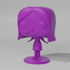 Sally1.png Download STL file Sally Pop • Object to 3D print, Radiick