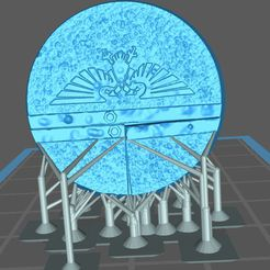 base32mm02.JPG Download free STL file 32MM URBAN BASE 02 (SUPPORTED) • 3D printer template, Supporter
