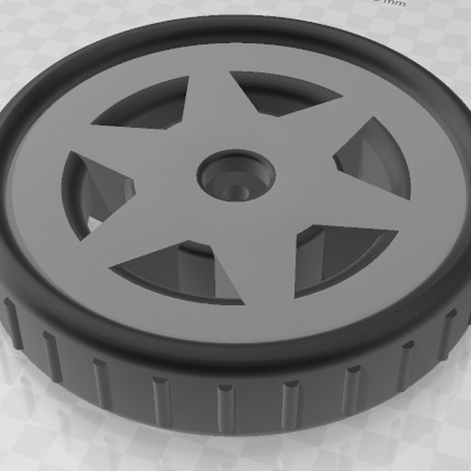 Wheel_3.png Download free STL file Roue 6,5'' • Object to 3D print, maelgodard