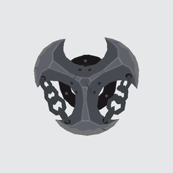 Mighty-Lynel-Shield.png Download OBJ file Mighty Lynel Shield The Legend of Zelda Breath of the Wild • 3D printing template, marioperezglz
