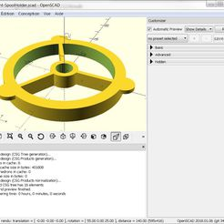 Sans_titre.png Download free SCAD file CUSTOMIZER WITH OPENSCAD • 3D printing design, jeff38100