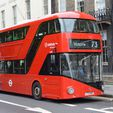 """New_Routemaster_Bus.jpg Download STL file """"New Routemaster"""" Bus. 1:100 Model. • Object to 3D print, Will_Strange"""