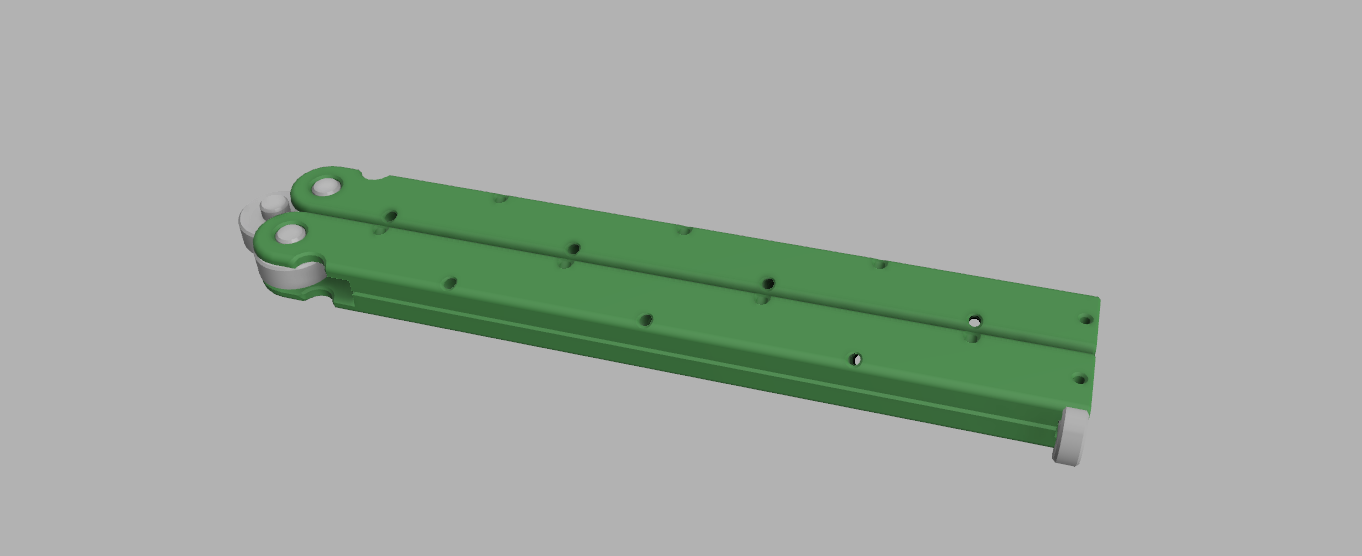 2.png Download free STL file Balisong Bic - Bic butterfly knife • 3D printable object, V1nve