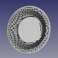 bathroom sink strainer01.png Download STL file Bathroom sink strainer hair catcher drain protector • Object to 3D print, Simply_Useful_3D