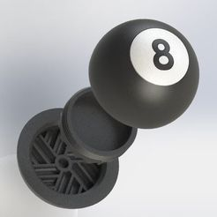 pica abierto.JPG Download STL file 8-Ball Grinder • 3D printing design, bichon205
