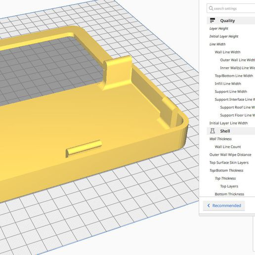 CURA_FrontPart.jpg Download file BMO Stand for Nintendo switch • Object to 3D print, Shigeryu
