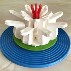 water_lily.jpg Download free STL file Water Lily (LEGO style) • 3D printing design, paulsroom