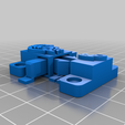 Chest_lock_dragon2.png Download free STL file Personalized chest lock • 3D printer object, mbernalcu