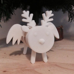 Capture_d__cran_2014-12-22___18.06.06.png Download free STL file Cork Pals: Frankly my Deer • 3D printer design, UAUproject