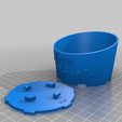 VW-Can-3.png Download free STL file 1998 - 2002 Volkswagen New Beetle cup holder 1C0862531 • 3D printing design, RubyFOX