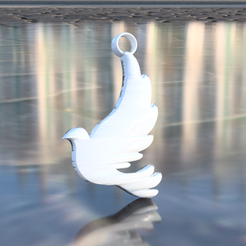 dove.png Download free STL file Dove earring • 3D printable model, IdeaLab