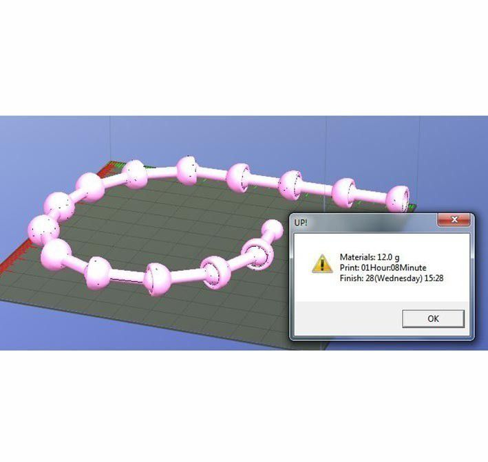 ChainetteRotule-14maillons.JPG Download free STL file Chainette boule • 3D printing template, Etienne