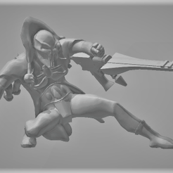 Screenshot-(550).png Download STL file female jesters of death (6+1 poses) • 3D printable object, boomshakalalaka