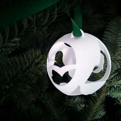 full.jpg Download free STL file The Open Source Christmas Decoration • 3D printing design, macouno