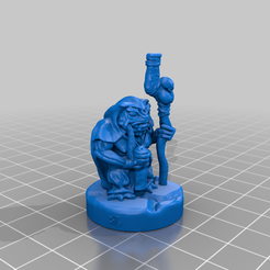 The_Trapmaker_BHG.png Download free STL file The Trapmaker 28mm Mini • 3D printer model, BelvedereHouseGames
