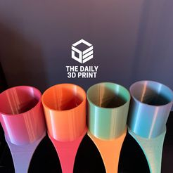 eZy Watermark_23-07-2020_11-25-35PM.JPG Download STL file Spa Accessories, Drink holder • Template to 3D print, Thedaily3dprint