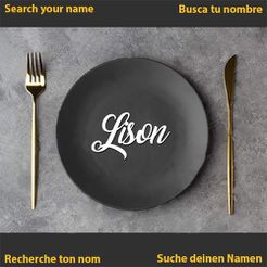 Lison.jpg Download STL file Lison • 3D printing object, merry3d