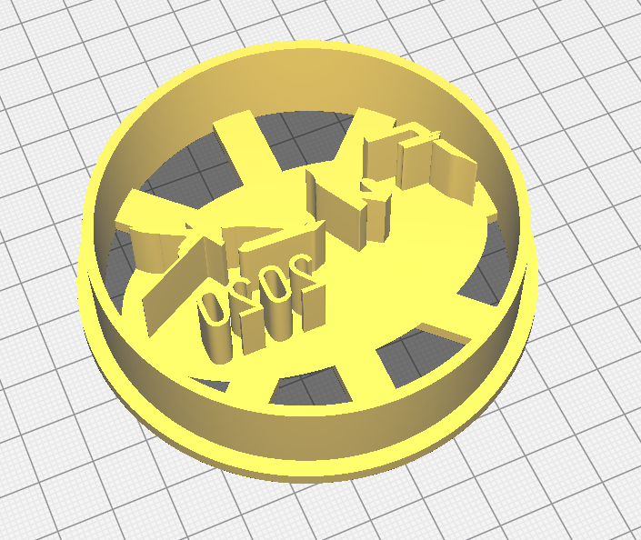 cutter1.png Download STL file Cyberpunk Fuck 2020 Cookie Cutter • 3D printing object, xmus_jackson