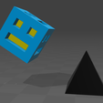 GEOMETRY.png Download free STL file Geometry dash • Object to 3D print, tyh