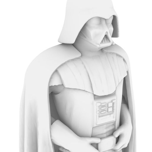 5.jpg Download free STL file DARTH VADER STANDING & USING THE FORCE, LEGION SCALE, STAR WARS, RPG, UNPAINTED, ROLE PLAYING, D&D • 3D print object, LANARDARNA